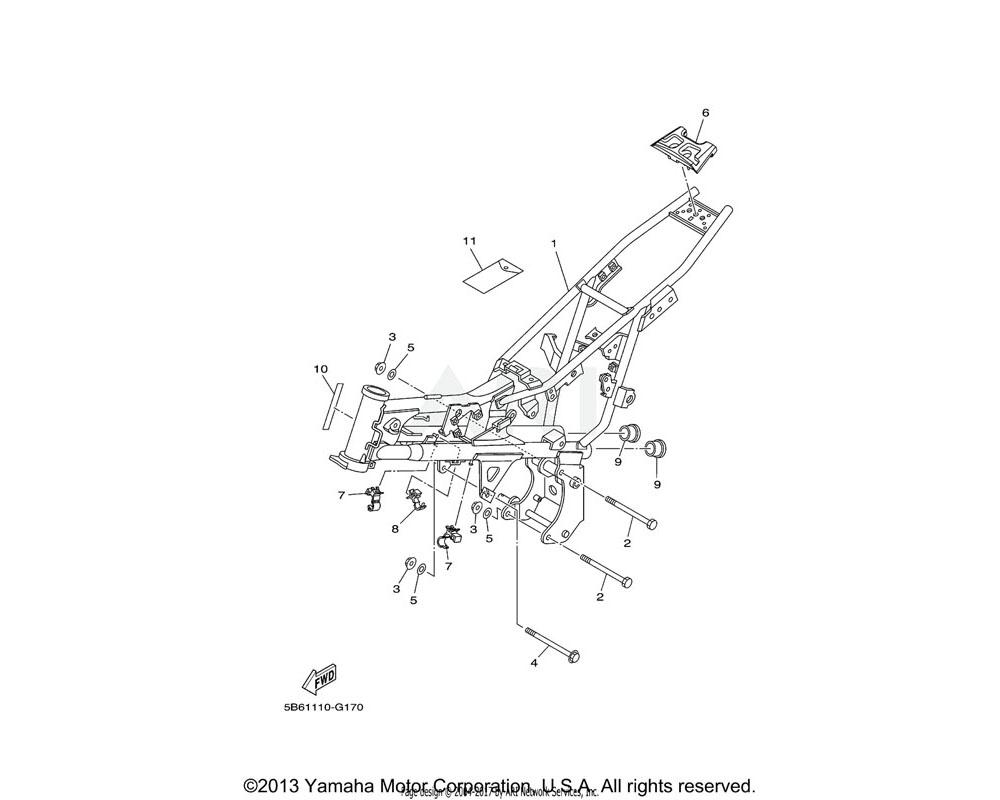 Yamaha OEM 5B6-21279-00-00 PLUG, BLIND