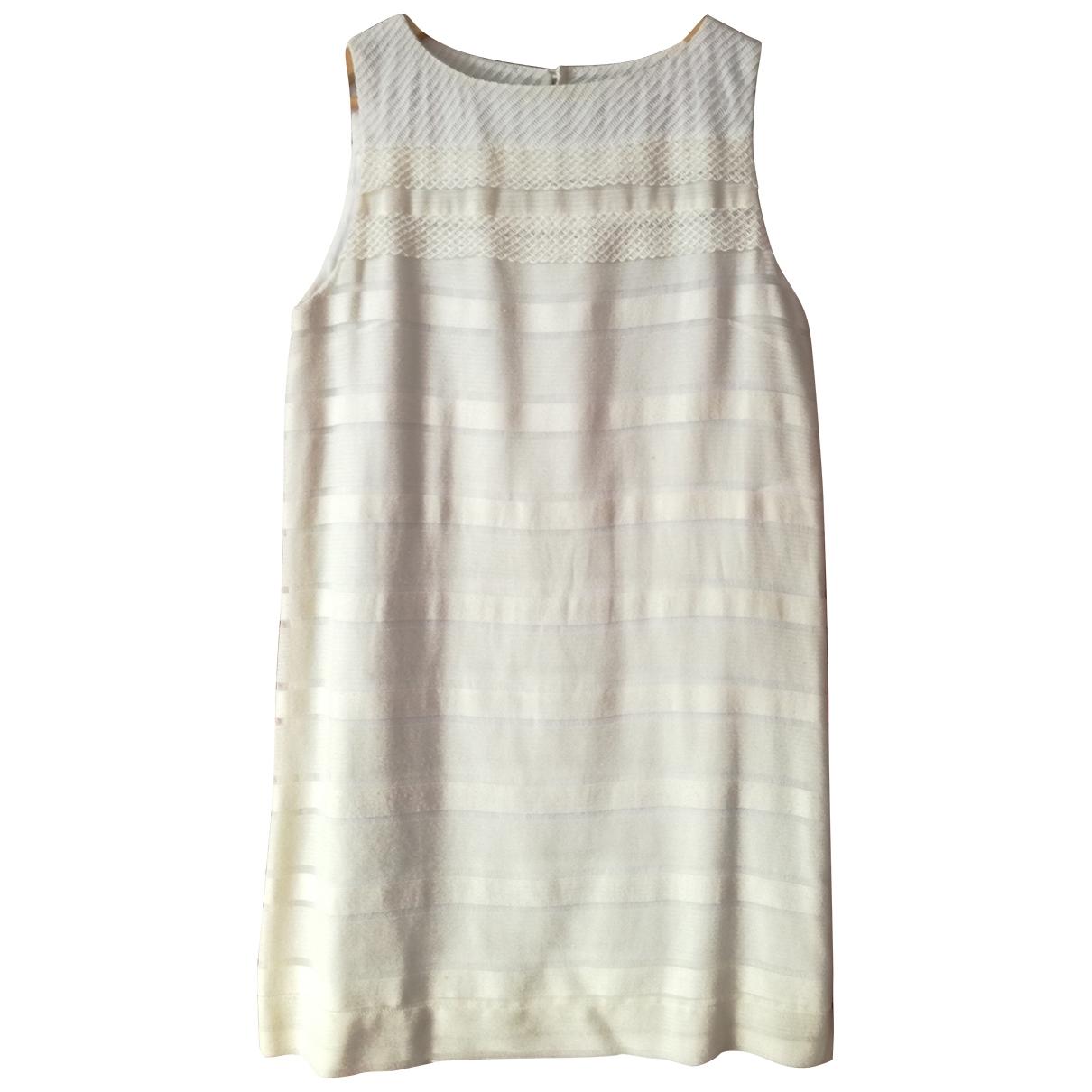 Ailanto \N Kleid in  Weiss Baumwolle