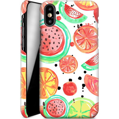 Apple iPhone X Smartphone Huelle - Fruit Crush von Mukta Lata Barua