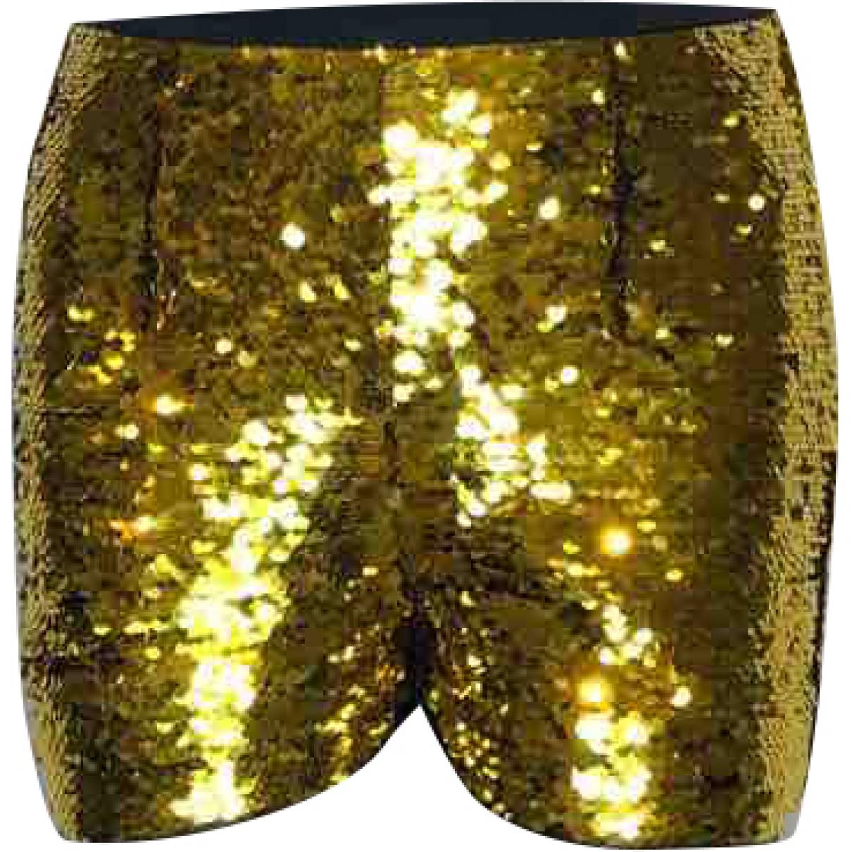 Dolce & Gabbana \N Gold Glitter Shorts for Women 38 IT