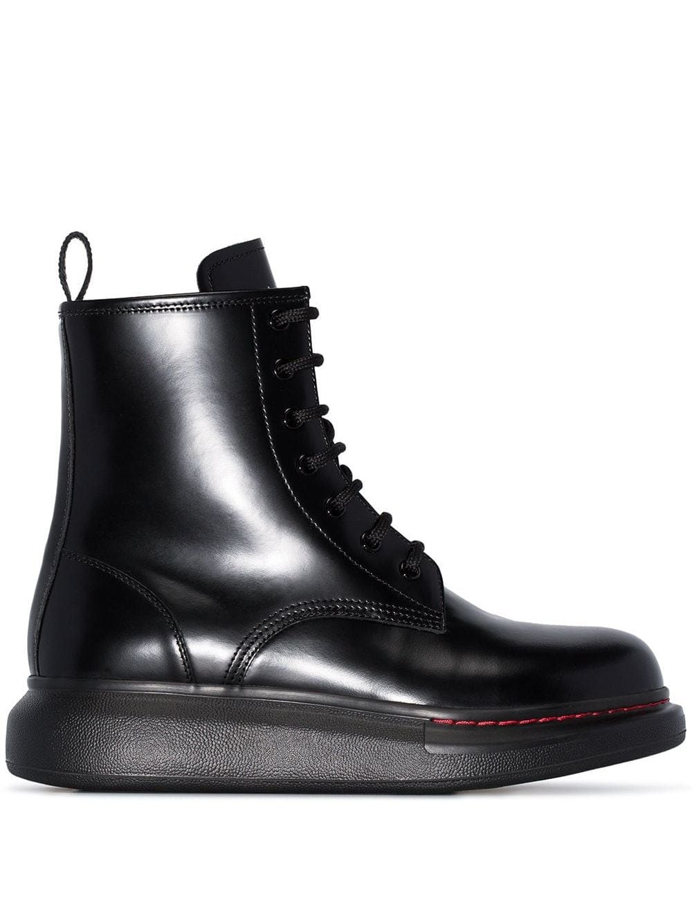 Hybrid Leather Ankle Boots