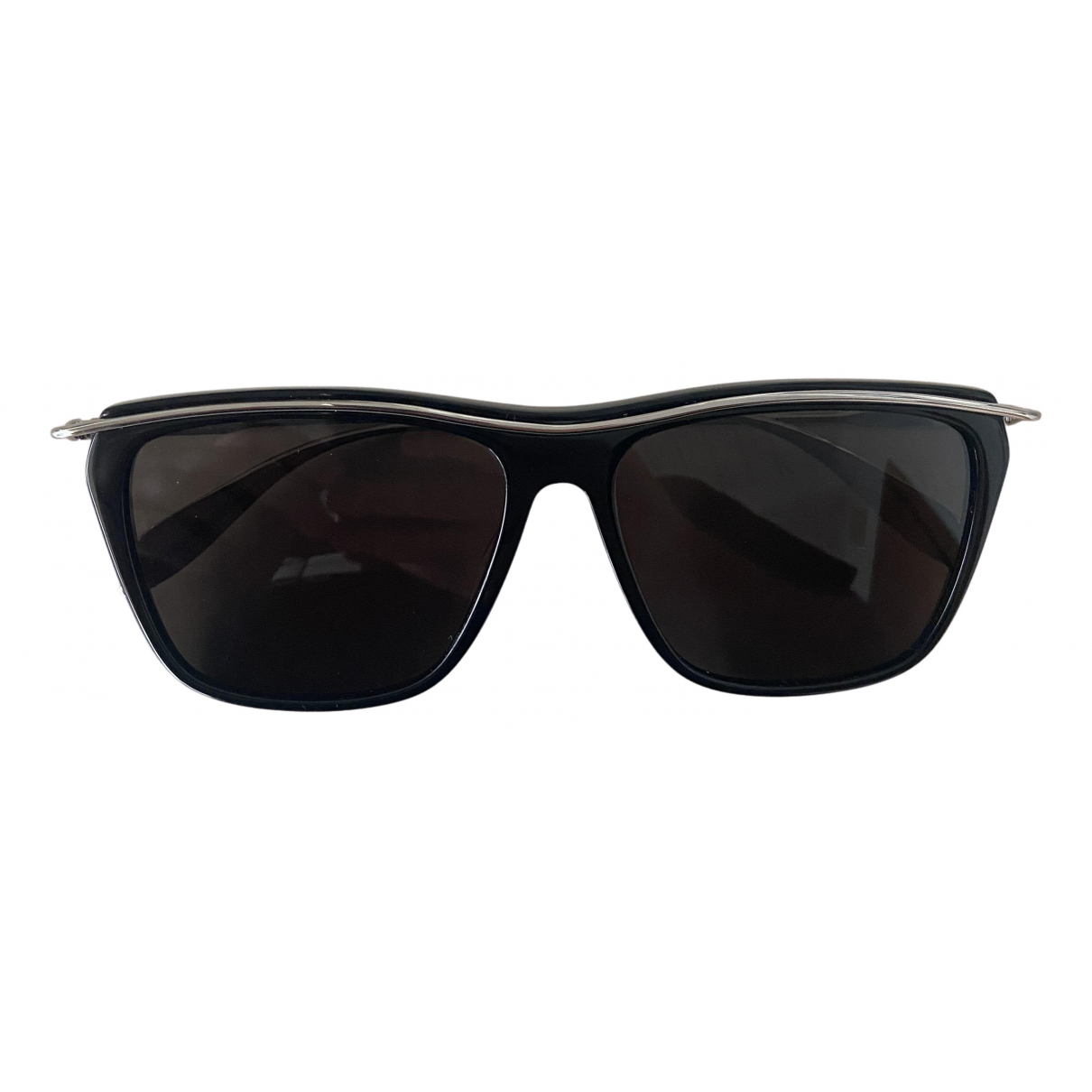 Alexander Mcqueen \N Black Metal Sunglasses for Men \N
