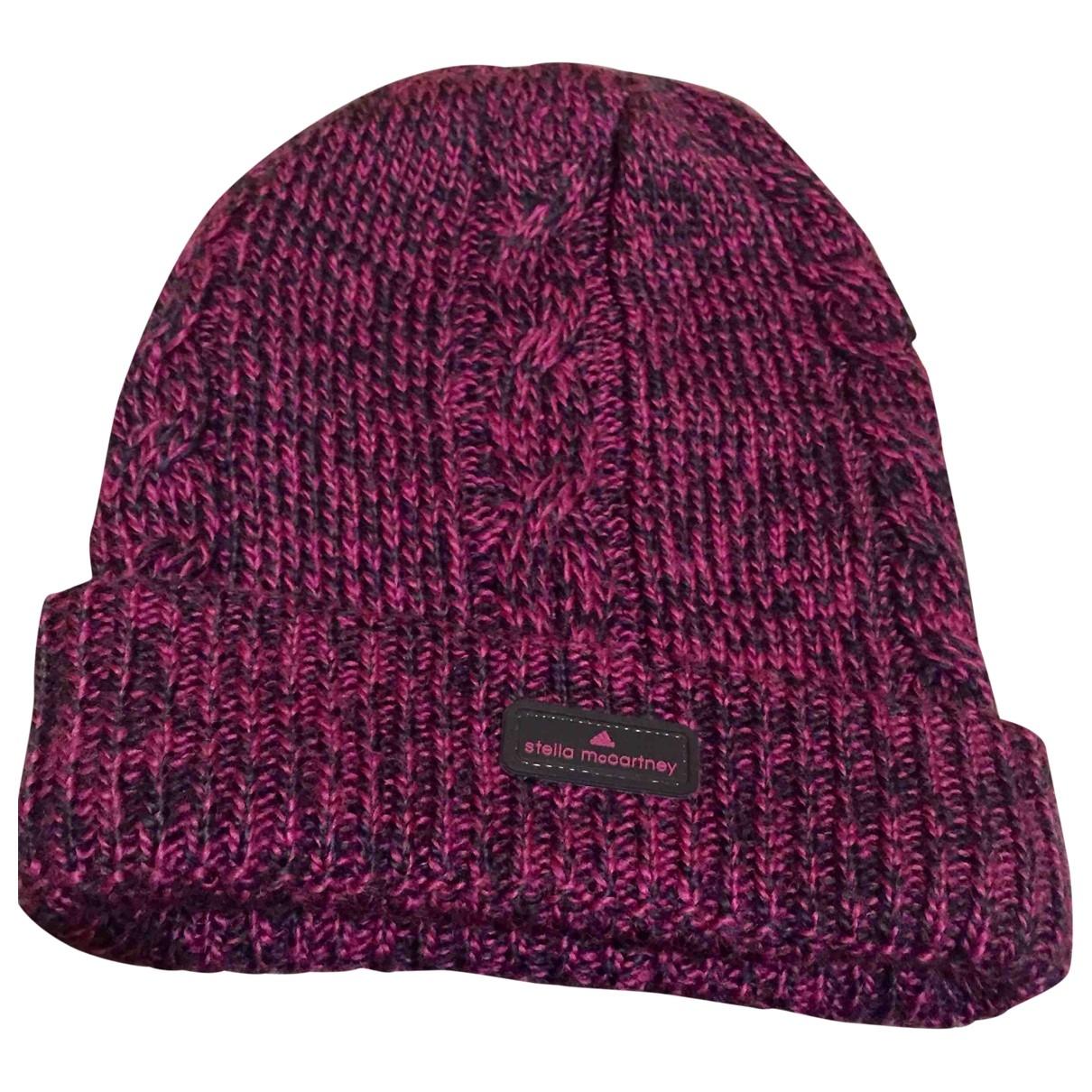 Stella Mccartney Pour Adidas \N Purple Cotton hat for Women M International