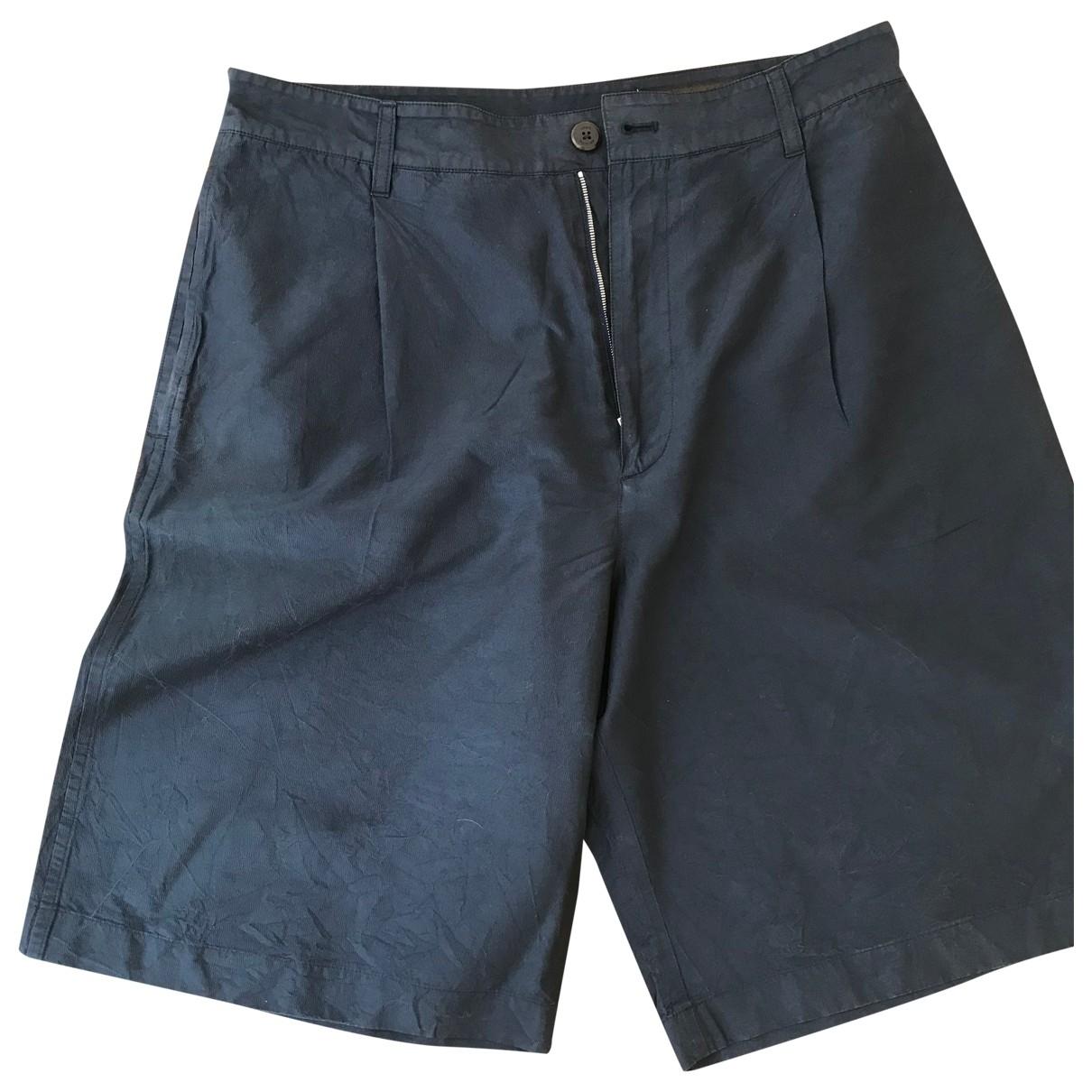 Louis Vuitton \N Shorts in  Marine Synthetik