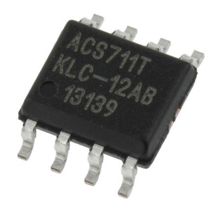 Allegro Microsystems ACS711KLCTR-12AB-T , Linear Hall Effect Sensor, 8-Pin SOIC