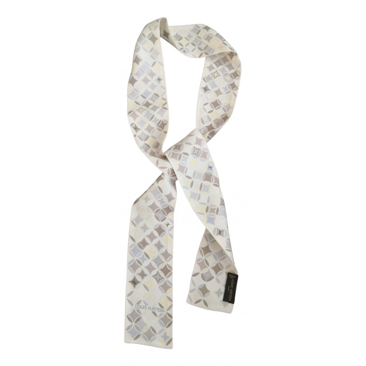 Louis Vuitton \N Schal in  Beige Seide