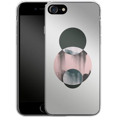 Apple iPhone 8 Silikon Handyhuelle - Minimalism 14 von Mareike Bohmer