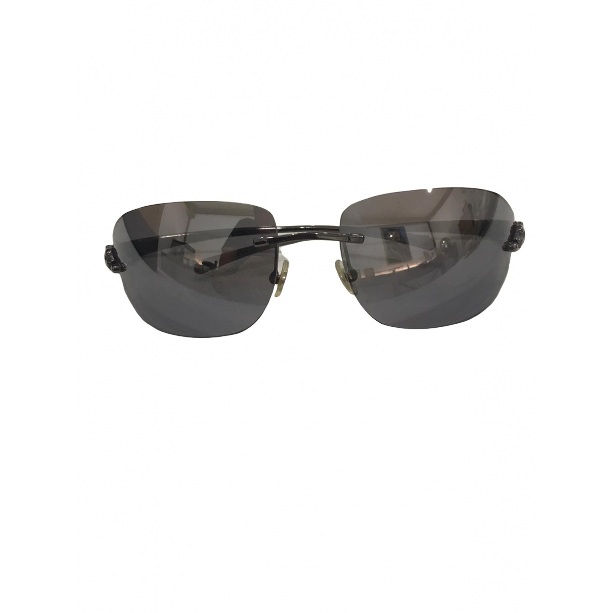 Cartier \N Grey Metal Sunglasses for Women \N