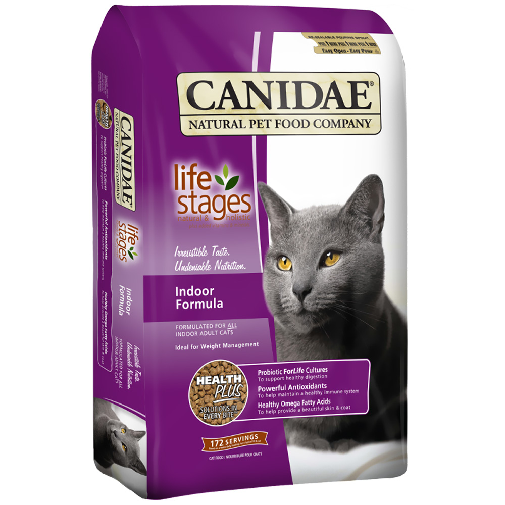 Canidae Life Stages Indoor Formula Dry Cat Food (15 lb)