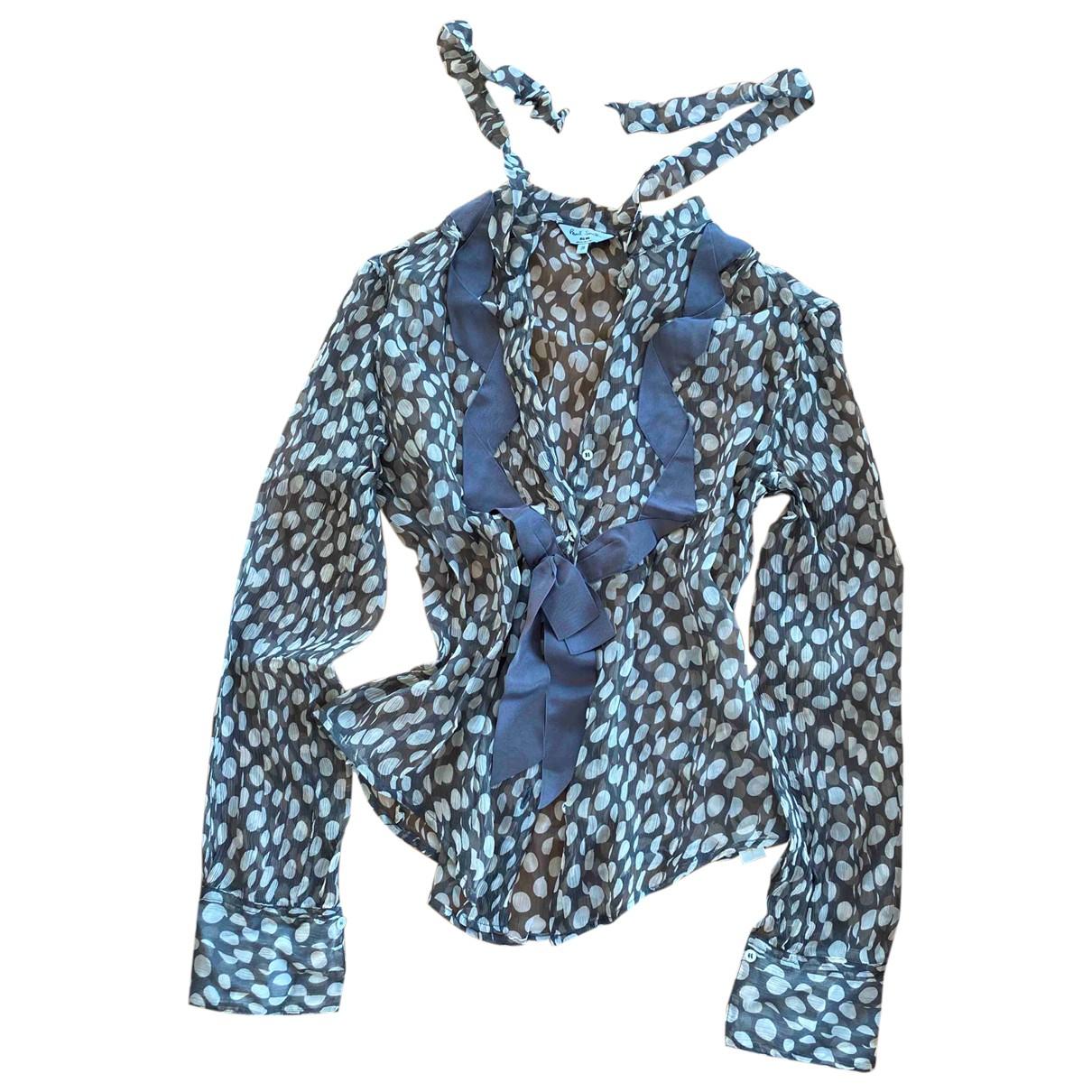 Paul Smith - Top   pour femme en soie - gris
