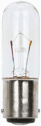 Werma BA15d Incandescent Bulb, Clear, 12 V, 580 mA (4)