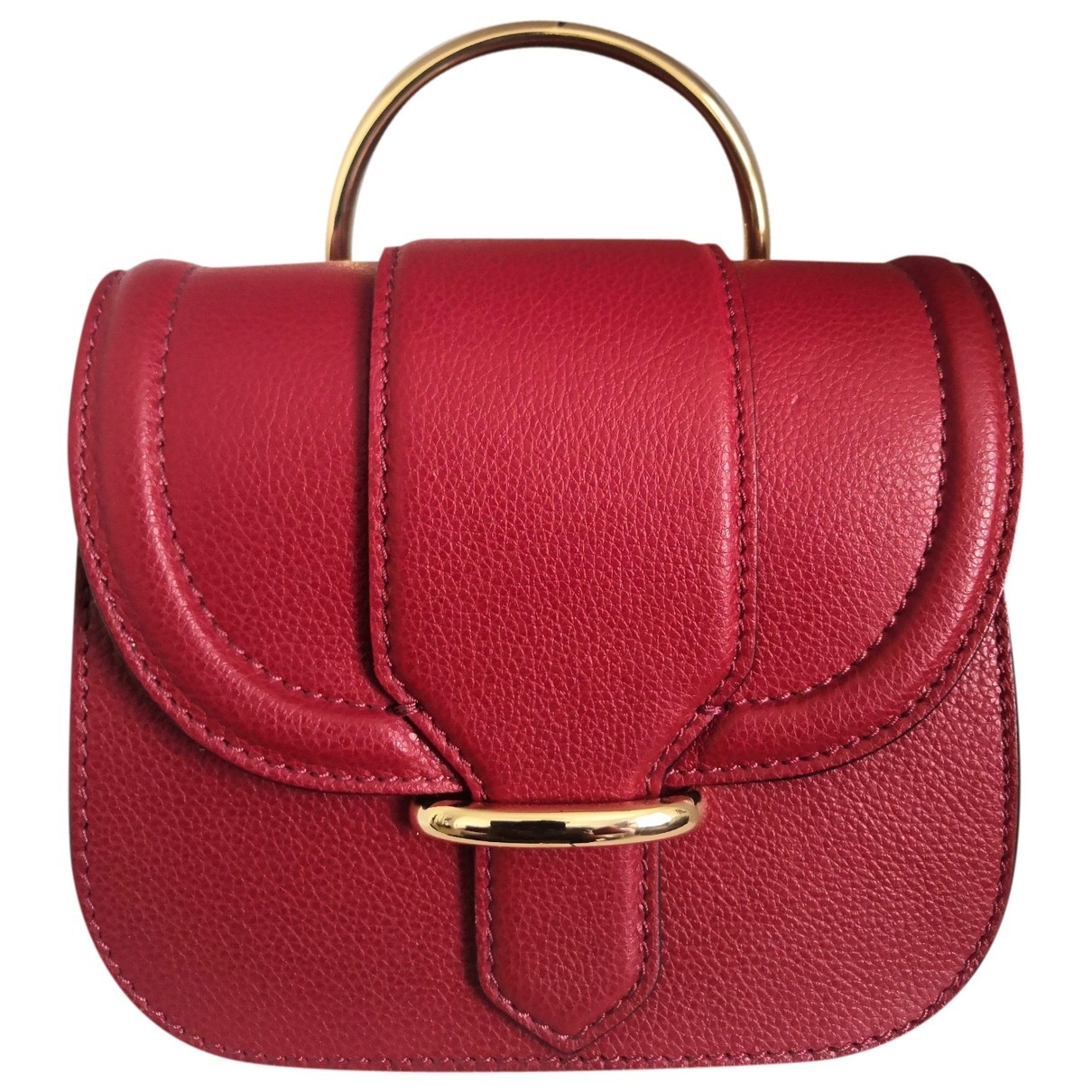 Gianni Chiarini \N Handtasche in  Rot Leder