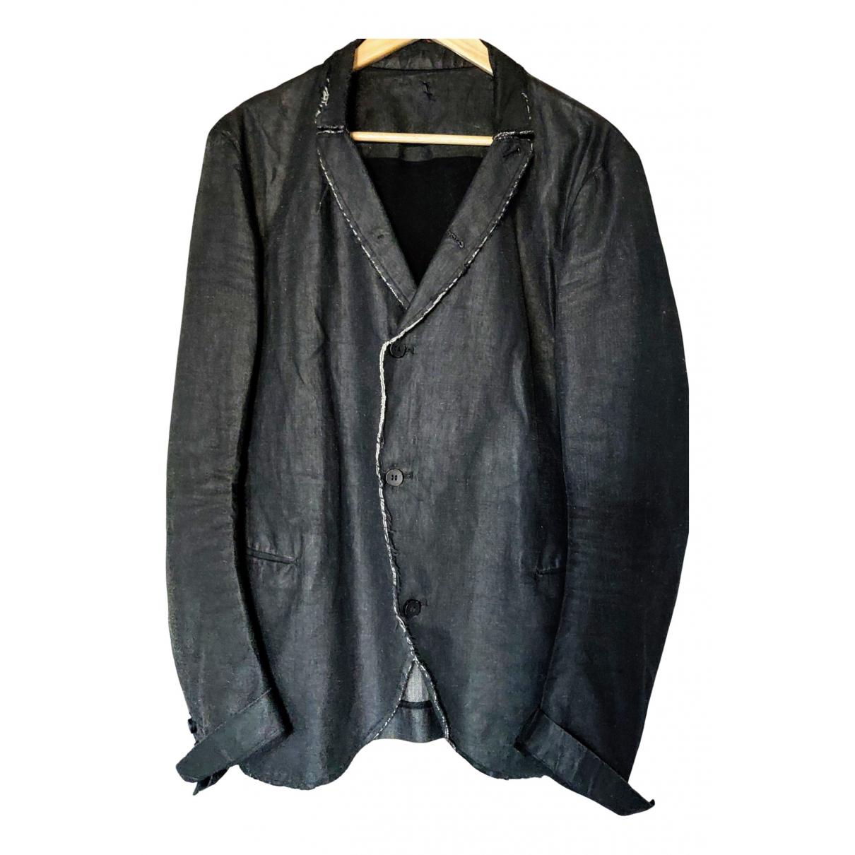 Masnada - Vestes.Blousons   pour homme en coton - noir