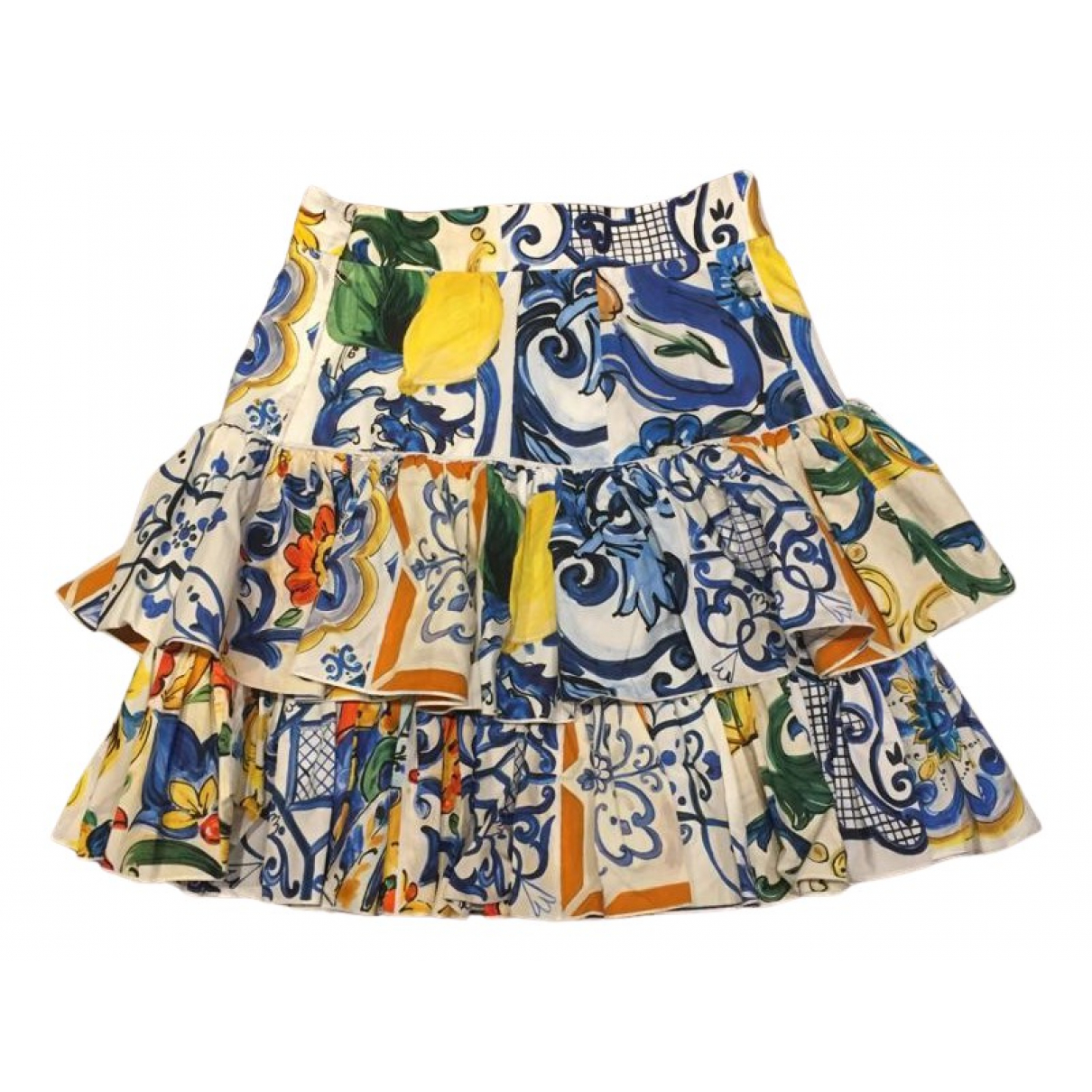 Dolce & Gabbana N Multicolour Cotton skirt for Women 40 IT