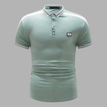 Polo Shirt mit Flicken und Band