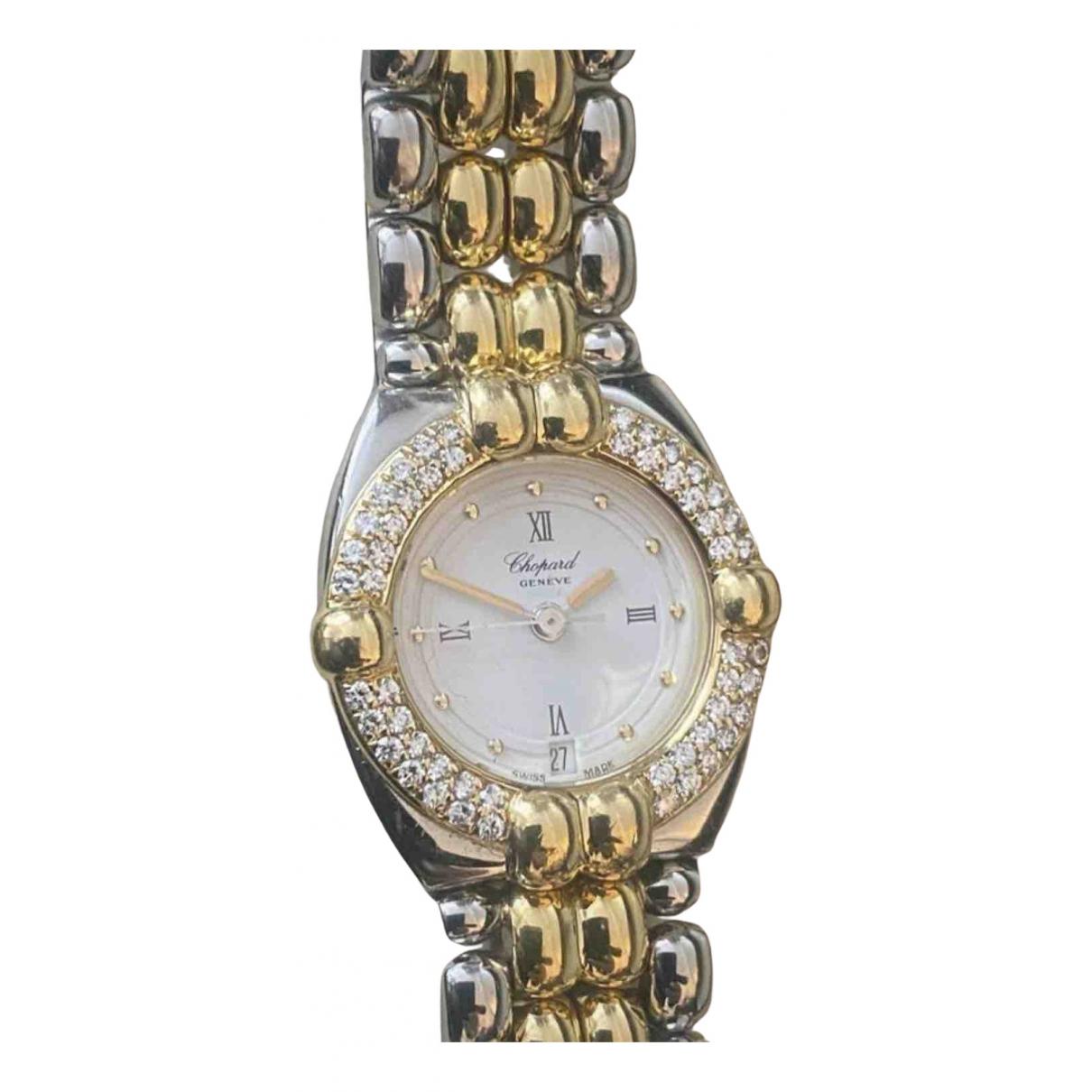 Chopard \N Uhr in  Silber Gold und Stahl