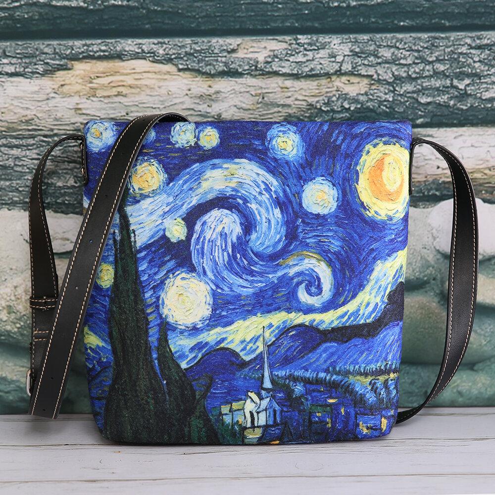 Women Colorful DIY Galaxy Lamb Hair Bag Crossbody Bag