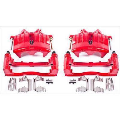 Power Stop Performance Powder Coated Calipers with Brackets - S4798A