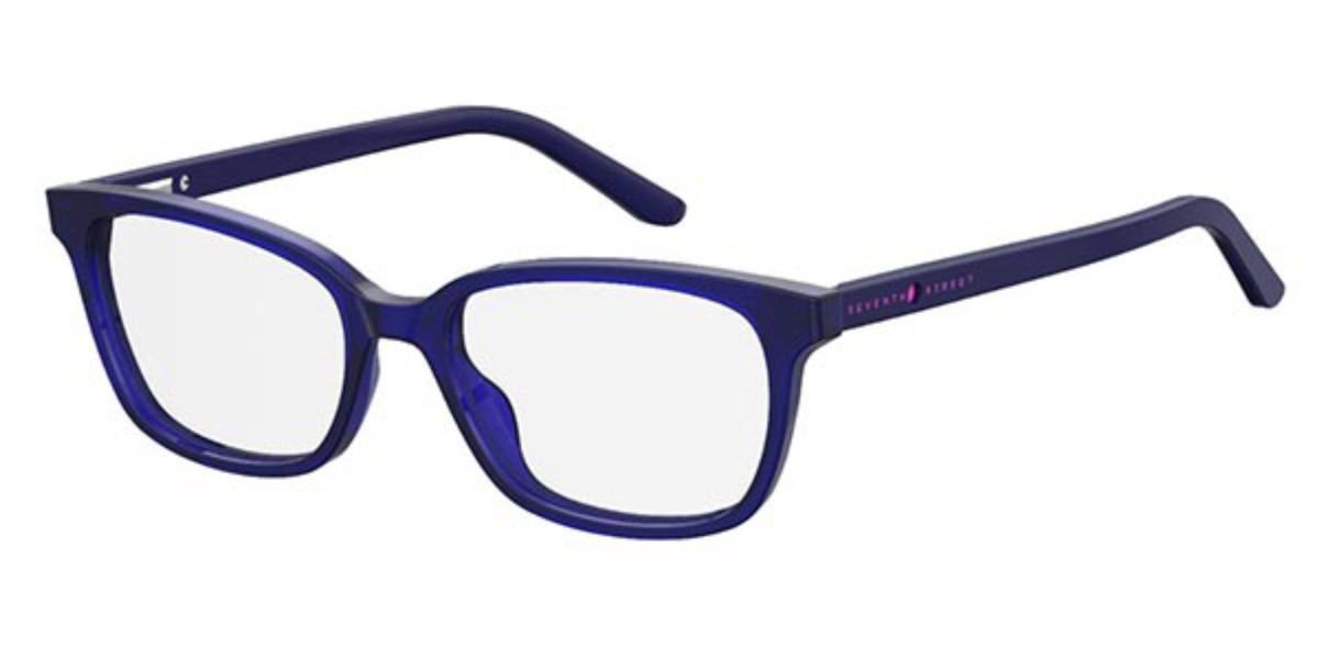Seventh Street S291 Kids GEG Kids Glasses Violet Size 49 - Free Lenses - HSA/FSA Insurance - Blue Light Block Available