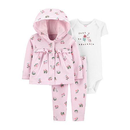 Carter's Baby Girls 3-pc. Clothing Set, 9 Months , Pink