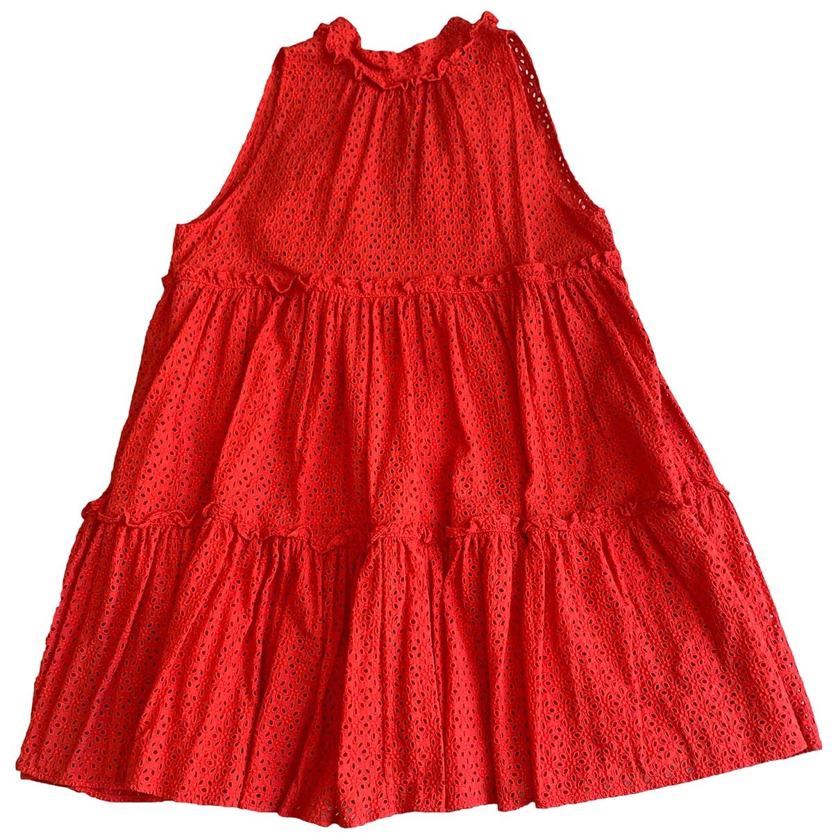 Lisa Marie Fernandez \N Red Cotton dress for Women 2 0-5