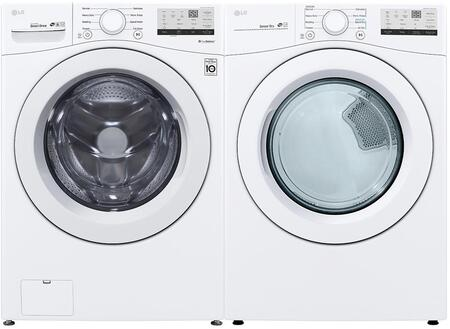 Side by Side Laundry Pair with Front Load WM3400CW 27