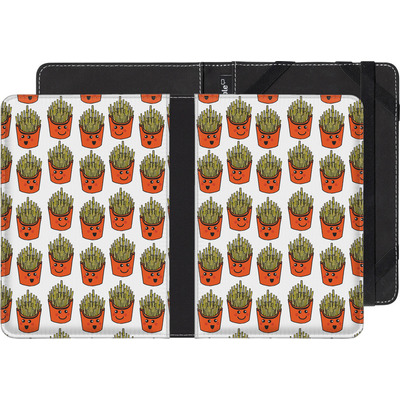 Amazon Kindle Touch eBook Reader Huelle - Happy Fries  von caseable Designs