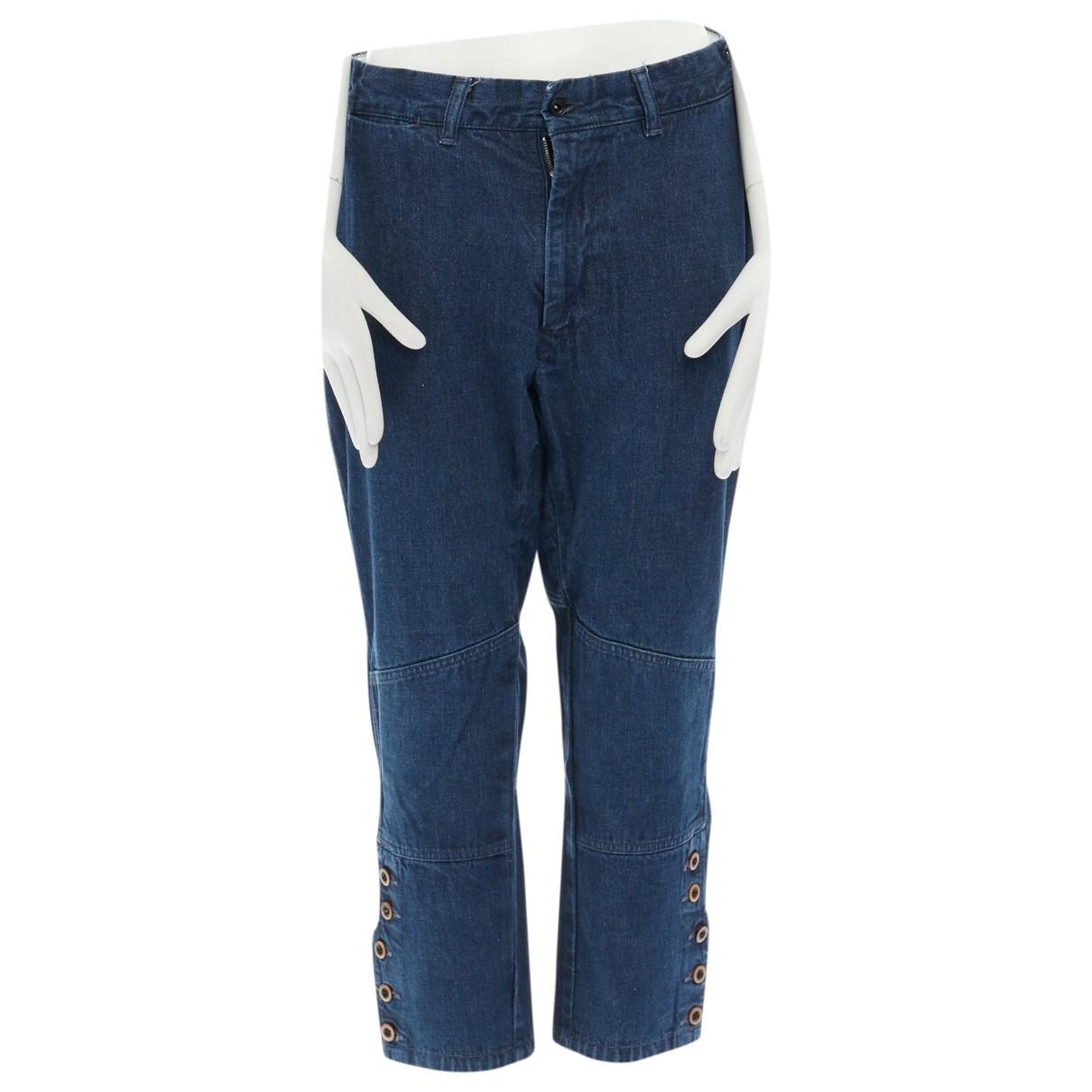 45rpm \N Blue Denim - Jeans Jeans for Women 38 FR