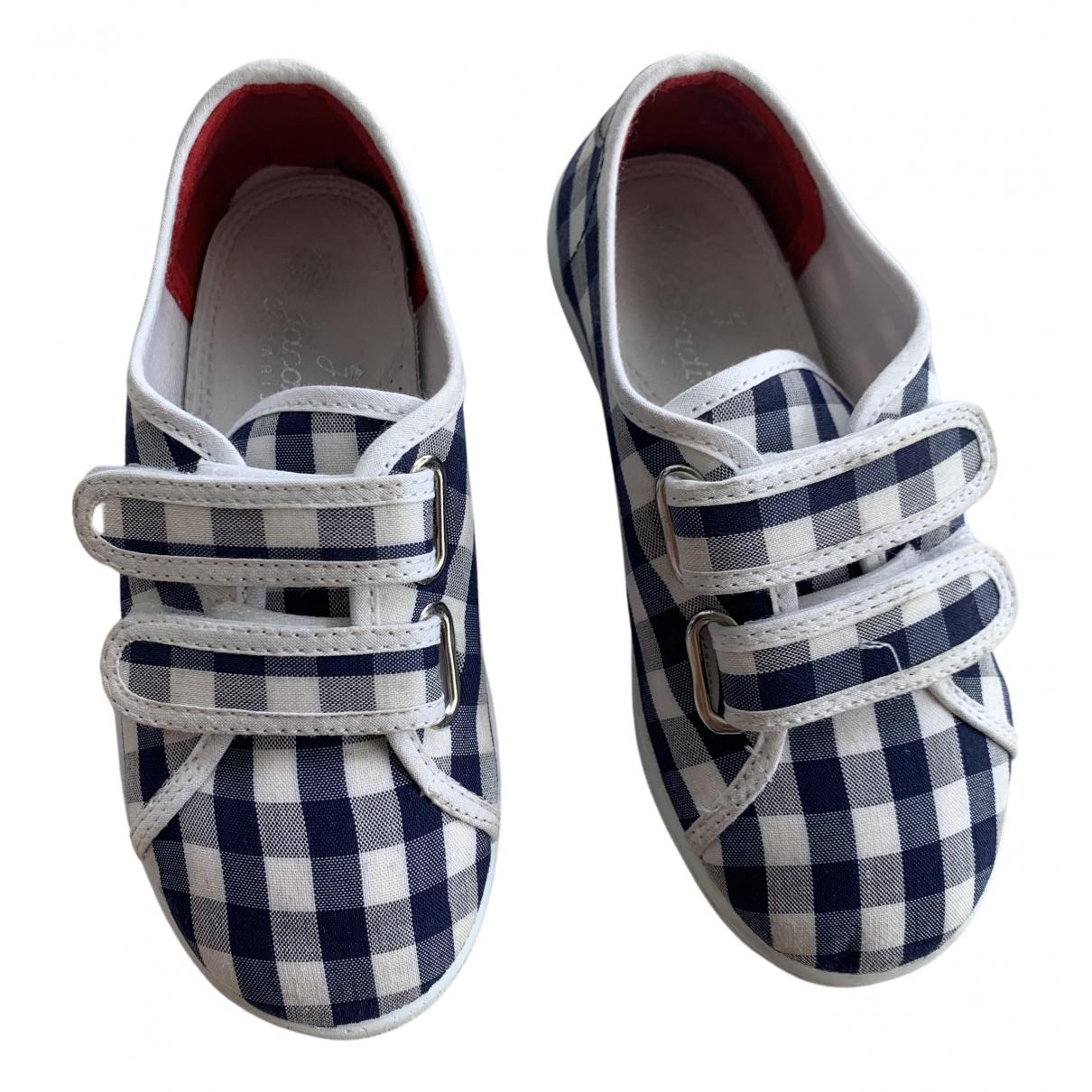 Jacadi N Navy Cloth Flats for Kids 27 FR
