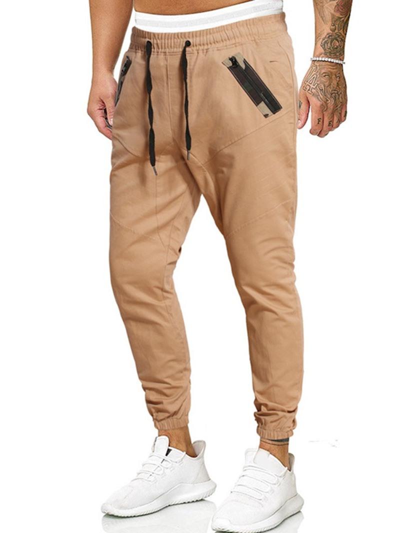 Ericdress Print Camouflage Pencil Pants Lace-Up Casual Men's Pants
