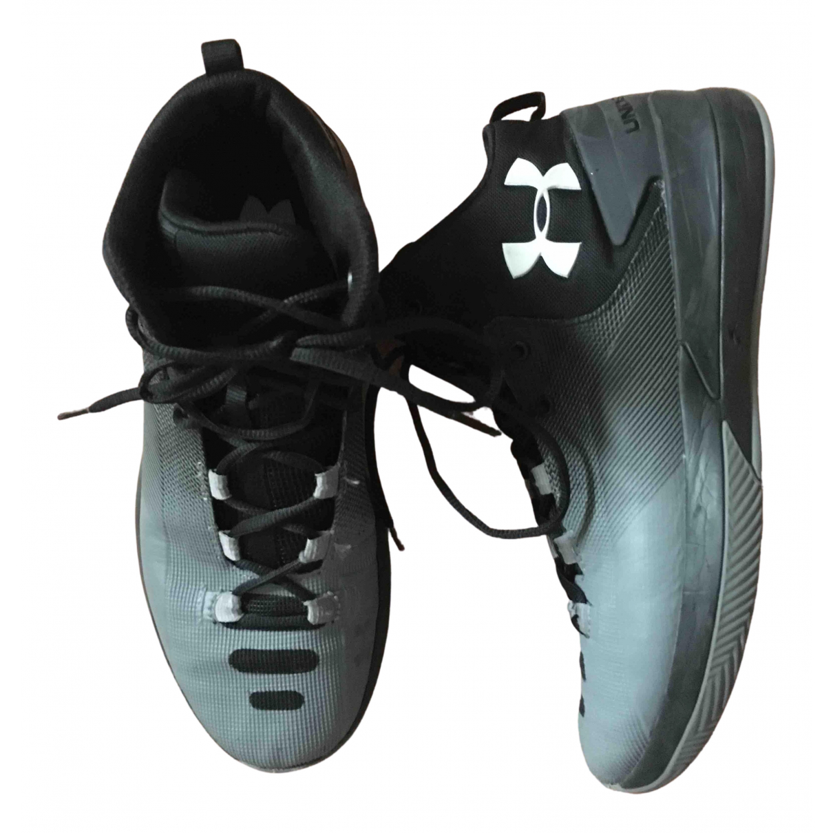 Under Armour N Grey Rubber Trainers for Men 44 EU