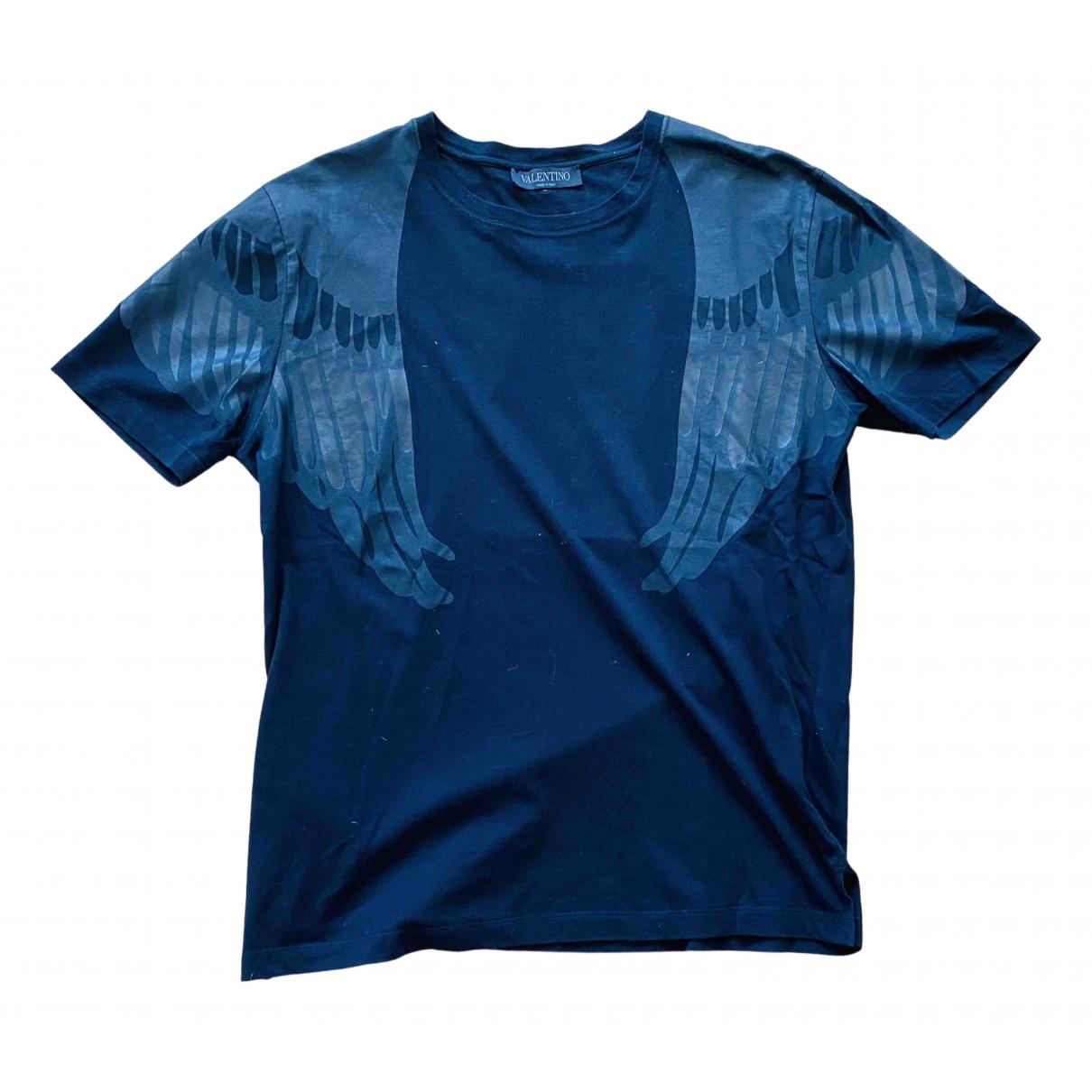 Valentino Garavani \N Black Cotton T-shirts for Men XL International