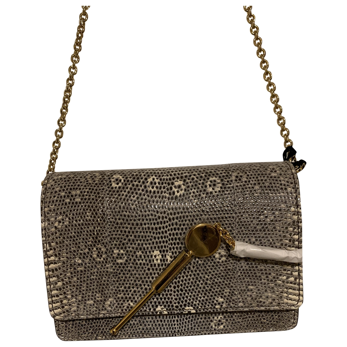 Sophie Hulme \N Handtasche in Exotenleder