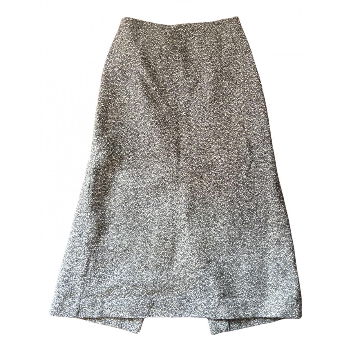 Max Mara - Jupe   pour femme en laine - multicolore