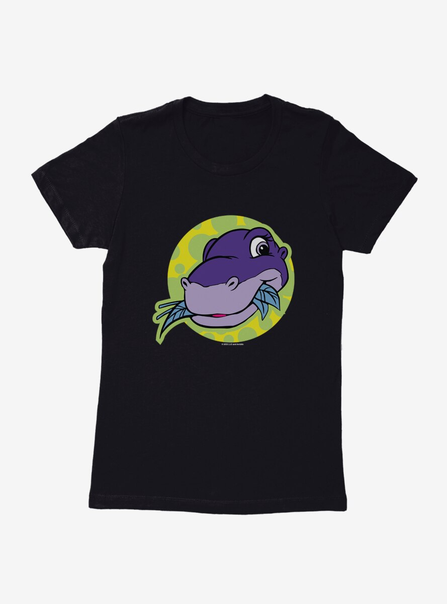 The Land Before Time Chomper Bubbles Womens T-Shirt