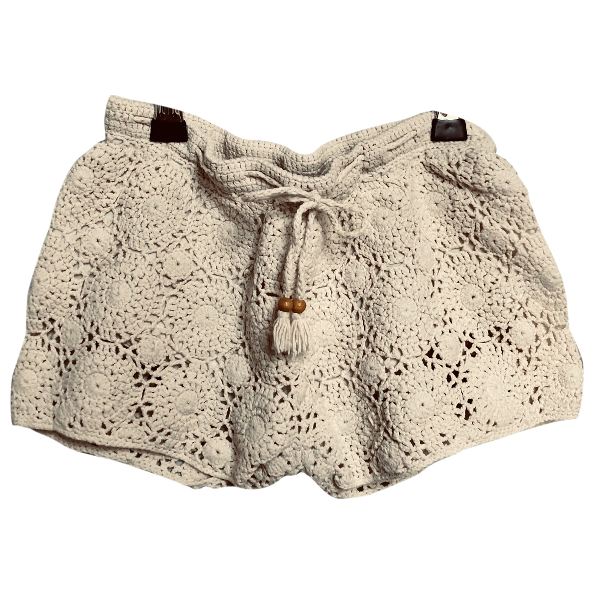 Bonpoint \N Beige Cotton Shorts for Kids 8 years - up to 128cm FR
