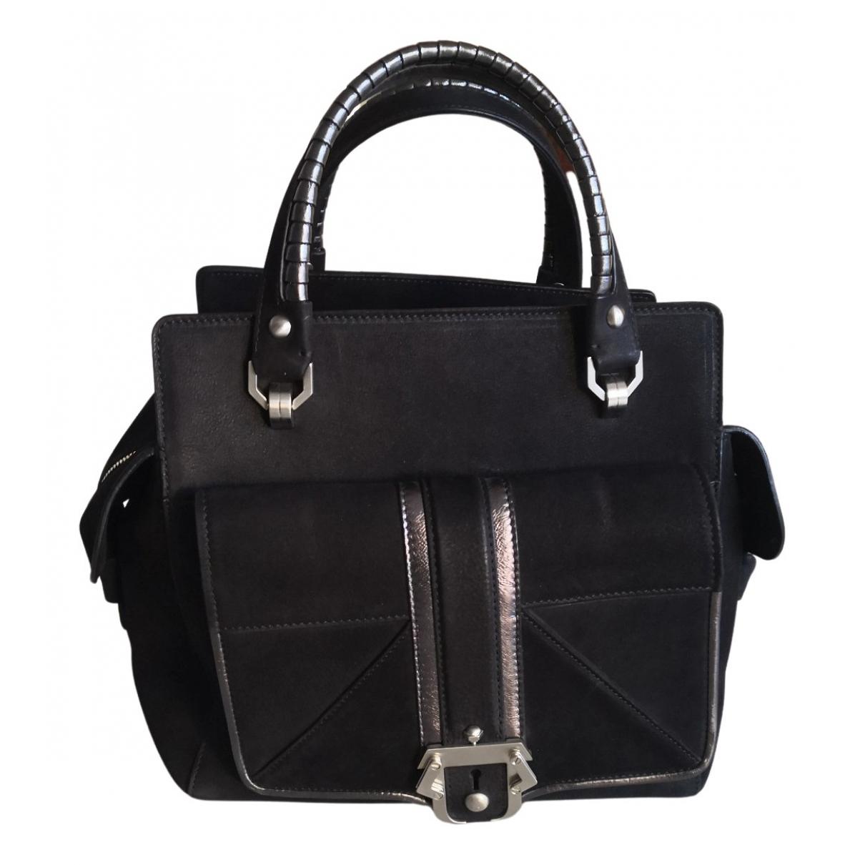 Paula Cademartori N Black Leather handbag for Women N