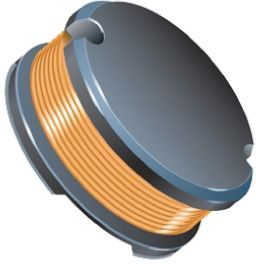 Bourns , SDR1307, 1307 Wire-wound SMD Inductor with a Ferrite Core, 560 μH ±10% Wire-Wound 1.3A Idc Q:10 (5)