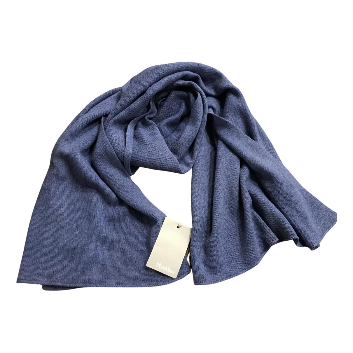 Max Mara N Blue Cashmere scarf for Women N