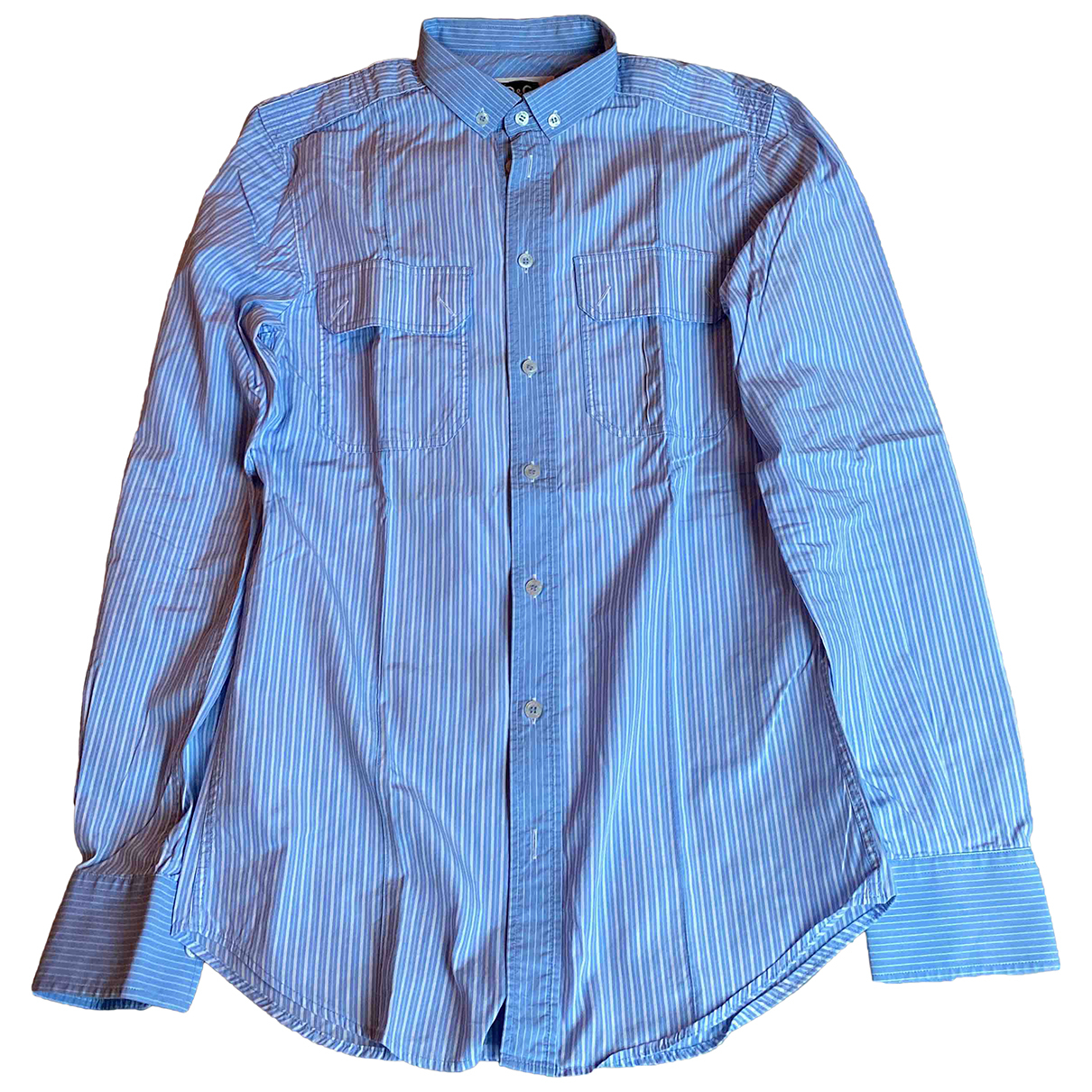 D&g - Chemises   pour homme en coton - bleu