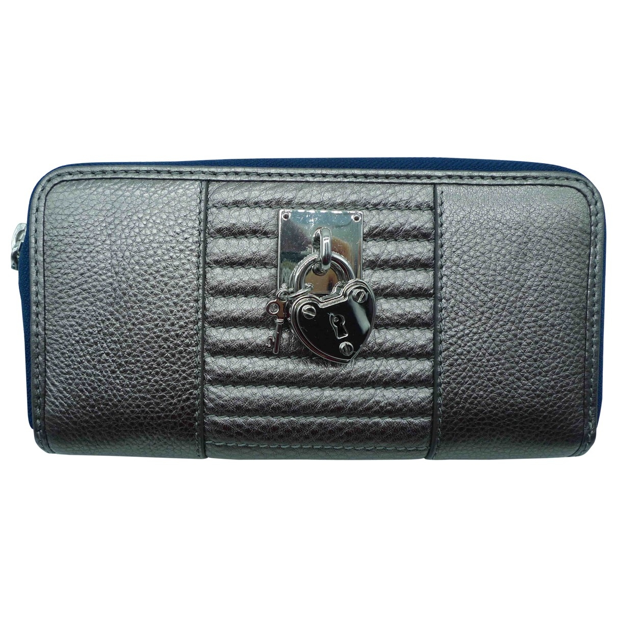 Juicy Couture \N Silver Leather wallet for Women \N