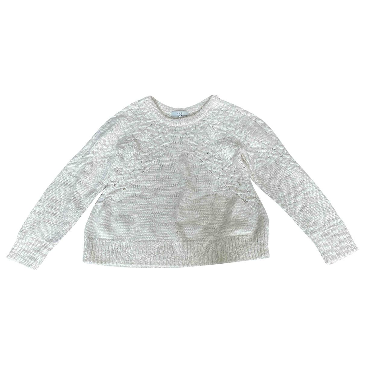 Iro - Pull   pour femme en laine - blanc