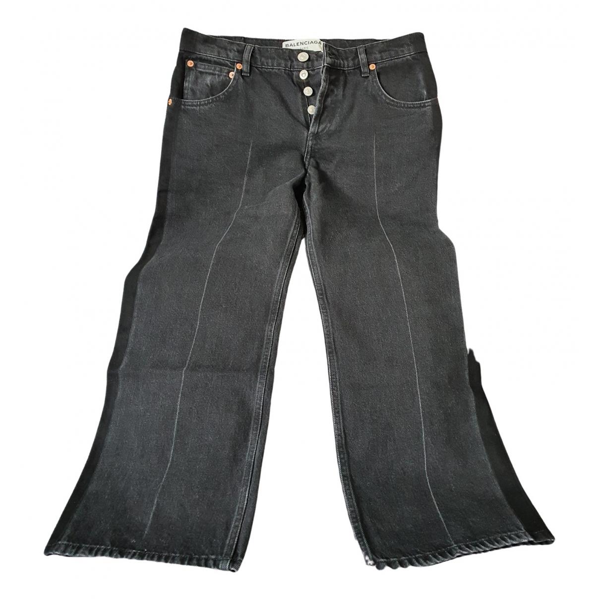 Balenciaga - Jean   pour femme en denim - noir