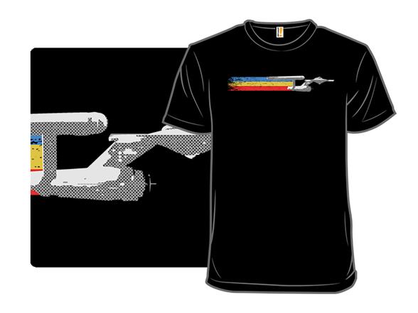 Retro Enterprise T Shirt
