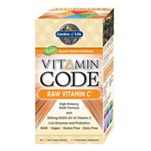 Vitamin Code Raw Vitamin C 60 Caps by Garden of Life