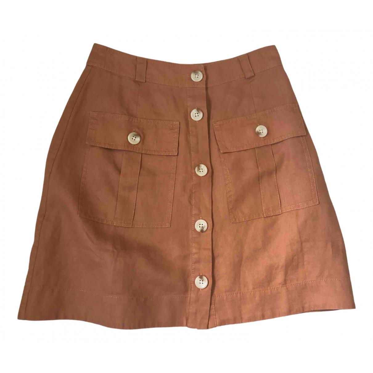 Mini falda de Lino Whistles