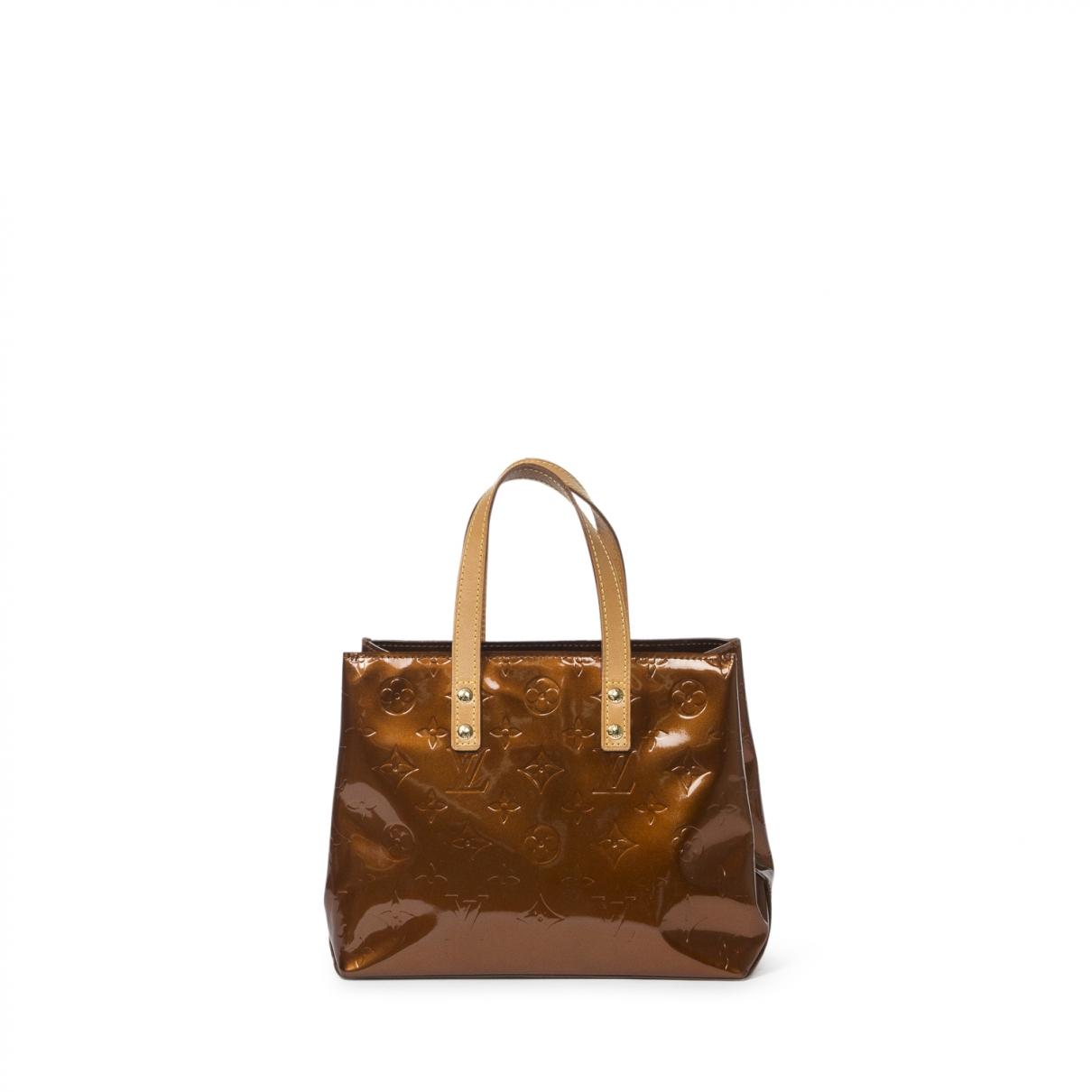 Louis Vuitton Reade Brown Leather handbag for Women \N