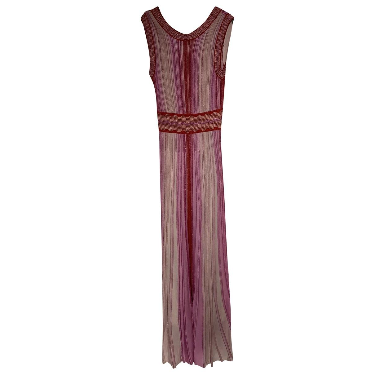 Missoni \N Kleid in  Rosa Mit Pailletten