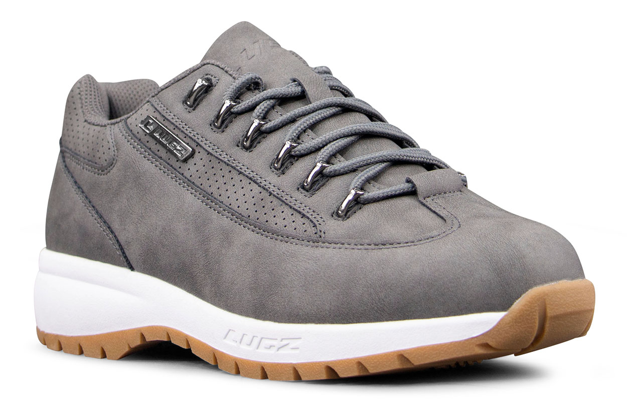 Men's Express Oxford Sneaker (Choose Your Color: CHARCOAL/WHITE/GUM, Choose Your Size: 11.5)