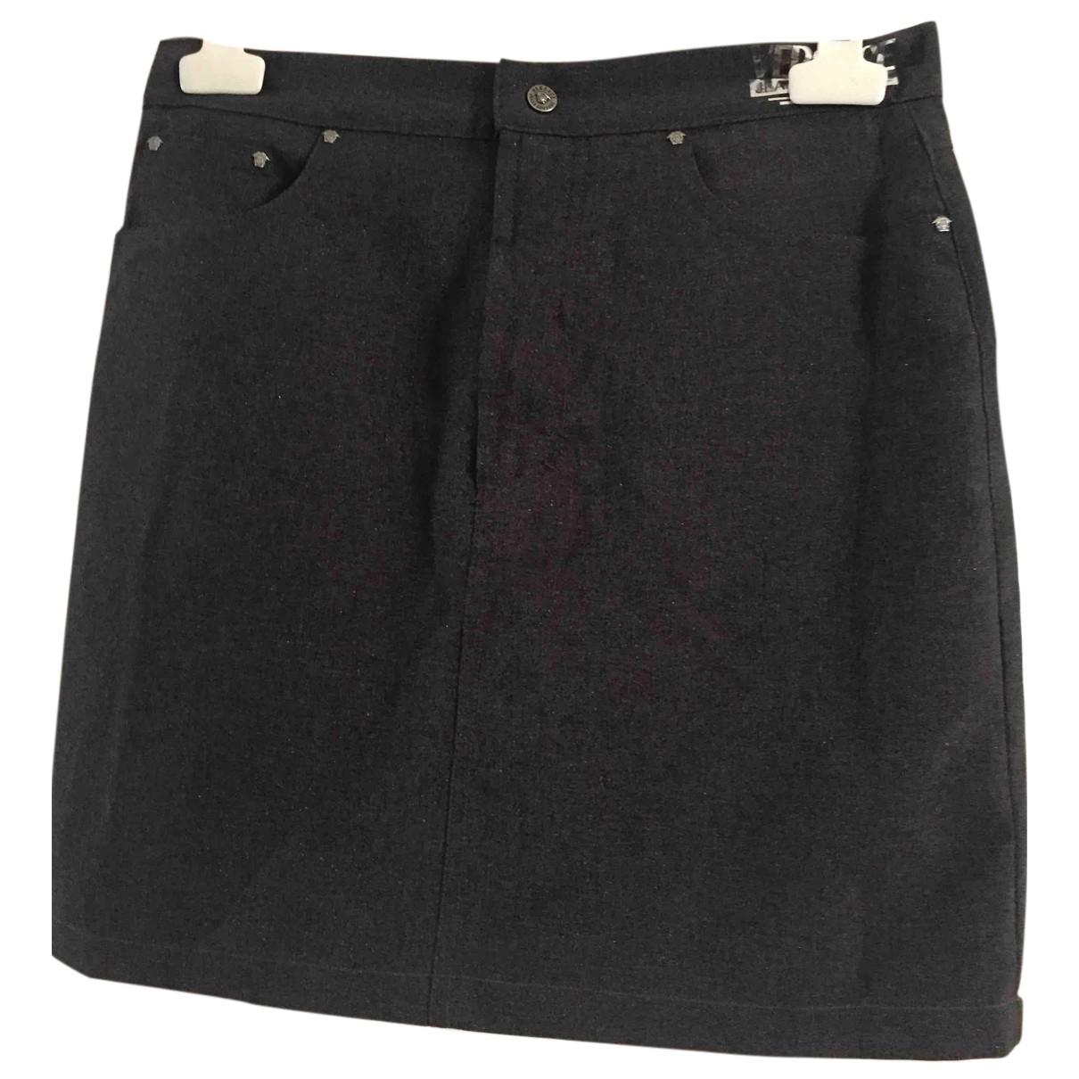 Versace Jeans \N Rocke in  Grau Baumwolle